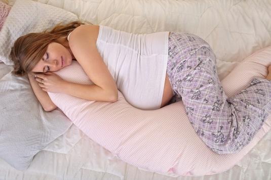 Sleepin woman