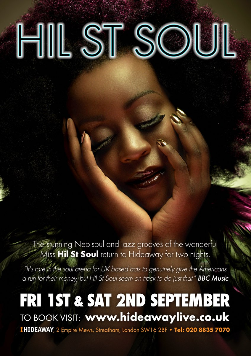 Hil St Soul Event Flyer