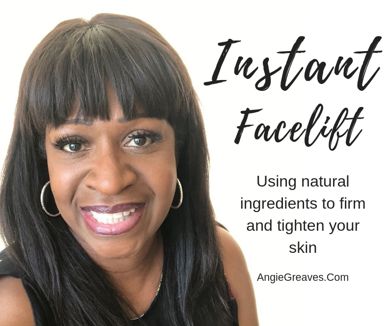 Instant Homemade Facelift – Angie Greaves